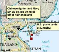 Force Majeure. Hainan Island Incident
