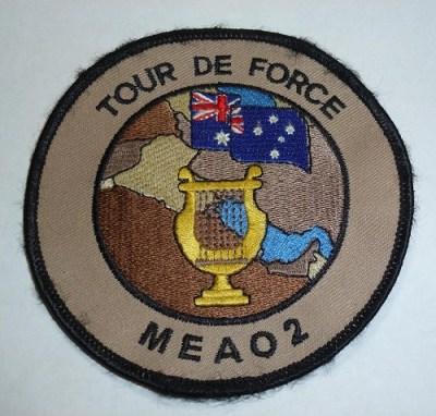 Tour de Force, Australian Army