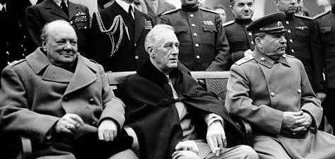WW2, World War 2, Allies, Stalin, Roosevelt, Churchill (1)