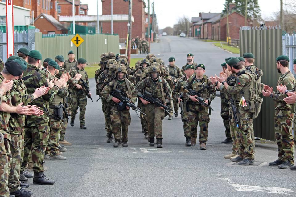 Irish Army Ranger Wing (ARW) Selection & Training – Boot
