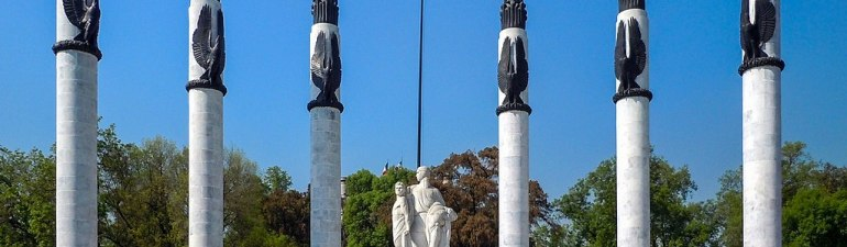 Monument to the Niños Héroes in Chapultepec Park, Mexico City.