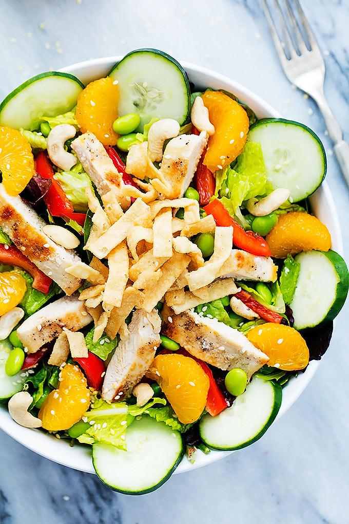 spring salads, healthy eating, salad recipes