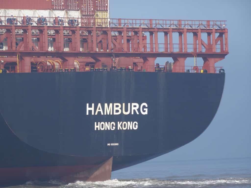 M/S HAMBURG aus Hong Kong