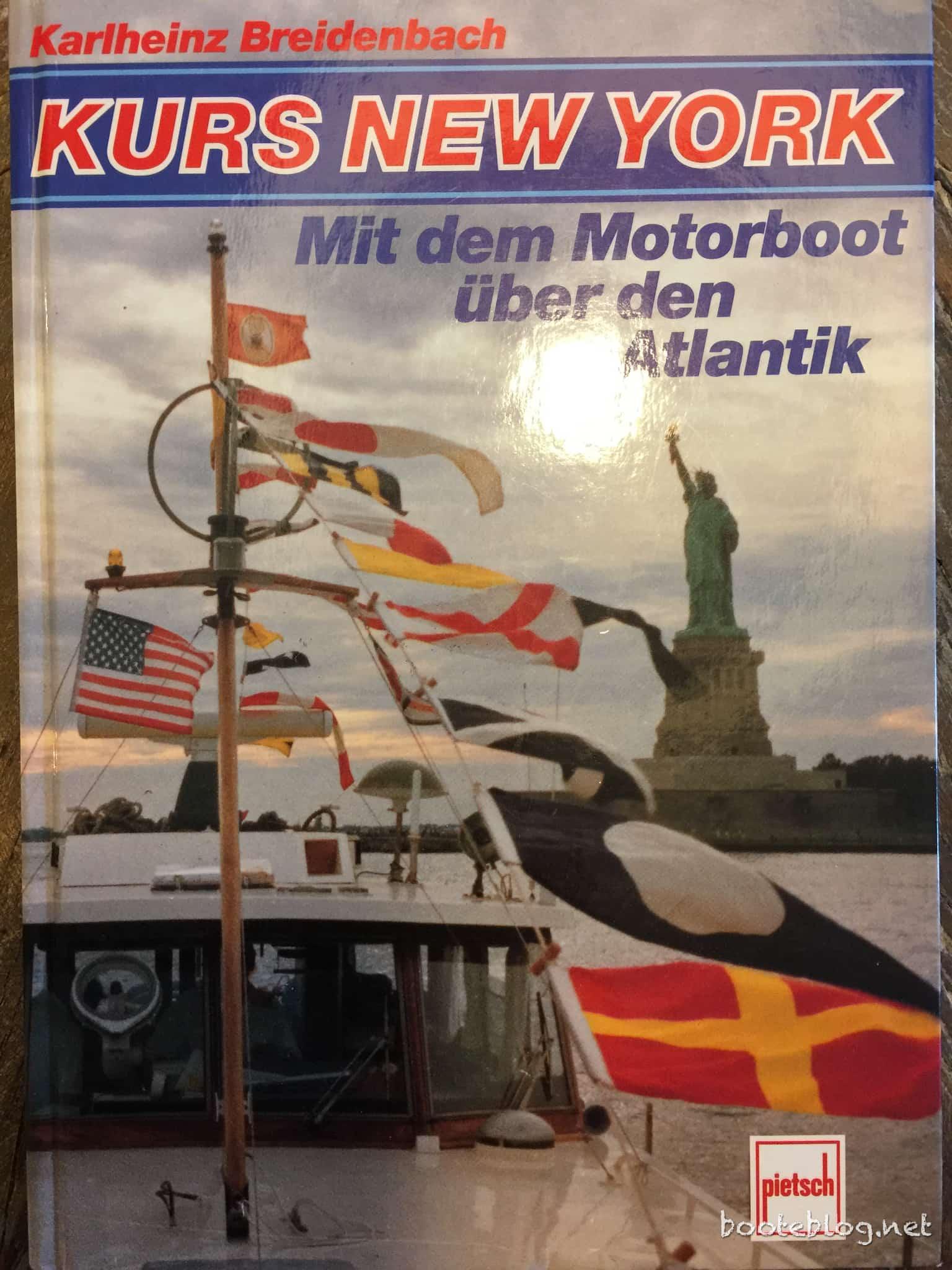 Kurs New York - Ganz große Seemannschaft, eine wahnsinns-Tour!