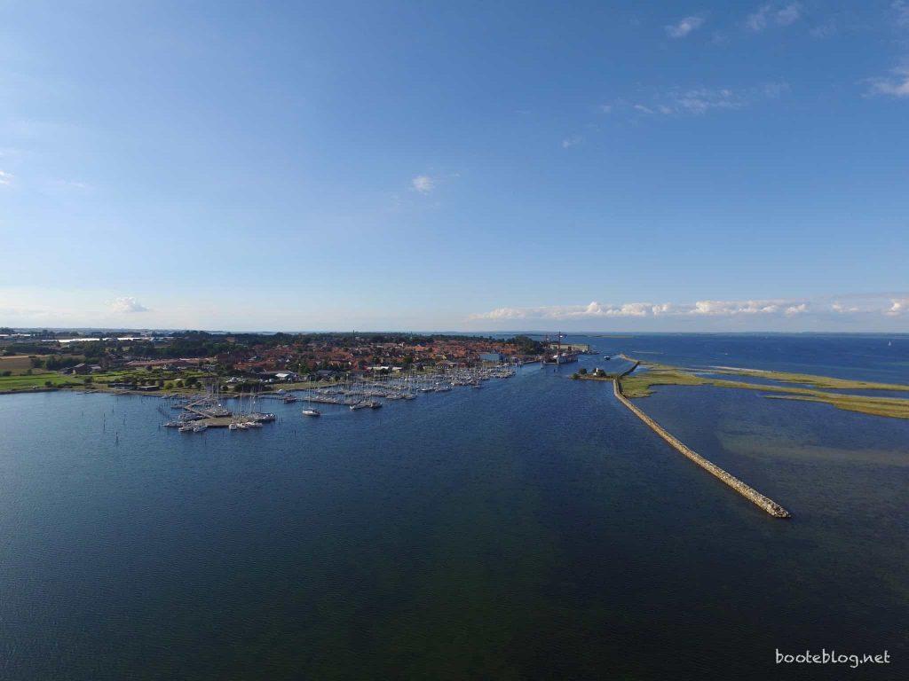 Marstal in der dänischen Südsee - ein Traumziel, und einfach zu erreichen.