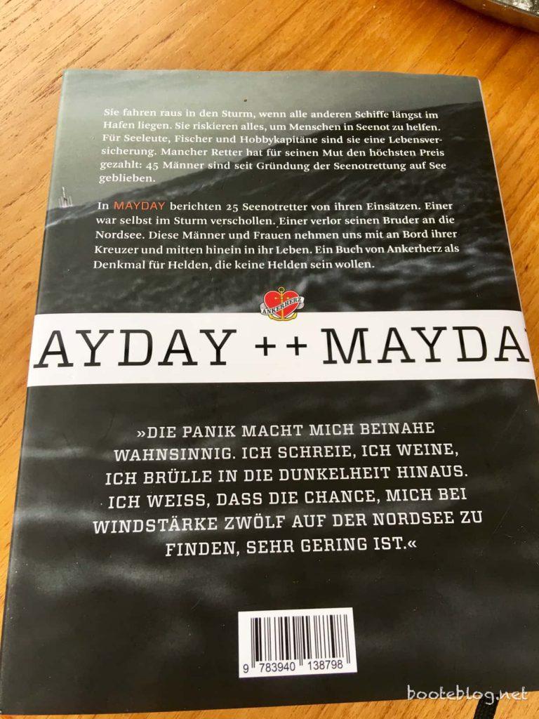"""Dicke Empfehlung! Das Buch """"Mayday"""" aus dem Ankerherz Verlag."""