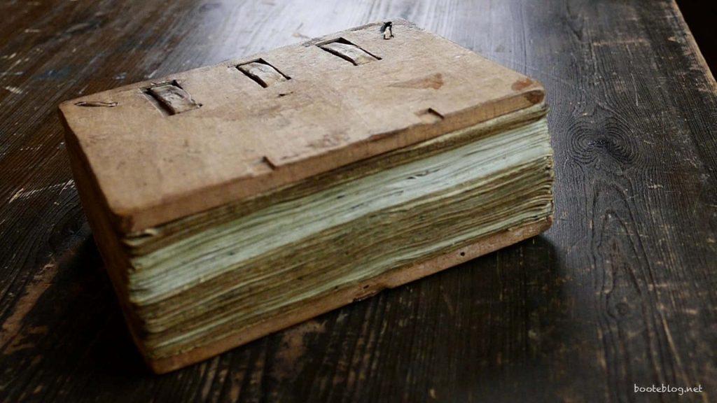 800 Jahre alt. Ein Privileg. so ein Buch anschauen zu dürfen.