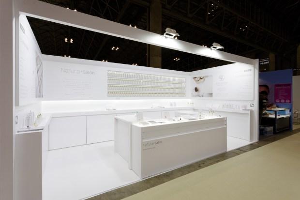 国際化粧品展ブースデザイン