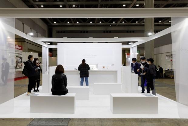 国際化粧品展東京の展示会ブースデザイン装飾