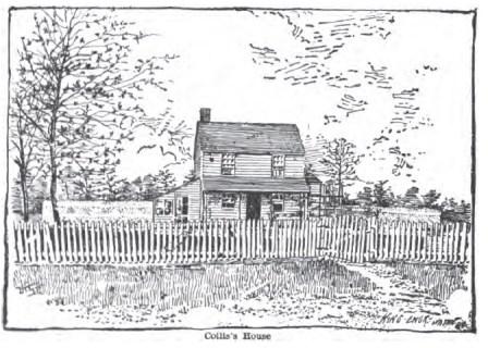 Collis House Engraving