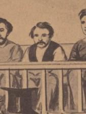 Atzerodt Trial Drawing CDV