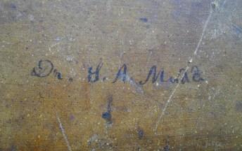 Mudd's signature