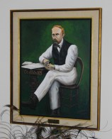 Painting of Dr. Mudd