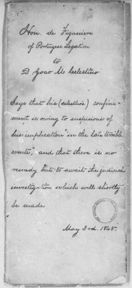 Summary of Celestino letter