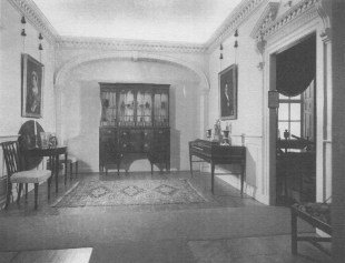 Former Interior of the Peyton House