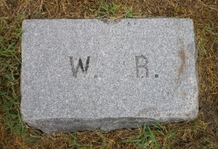 William Rollins' Footstone