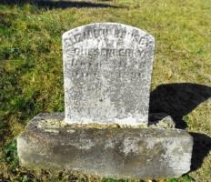 Mrs. Quesenberry's grave