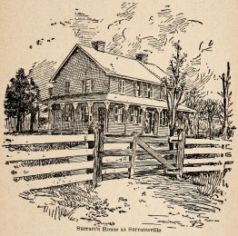 Engraving Surratt house Jones