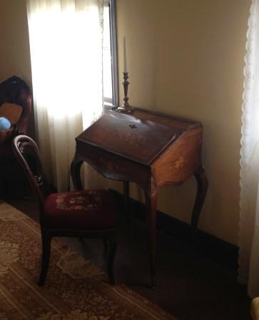 Mary's writing desk