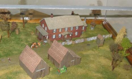 Surratt house diorama