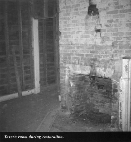 Surratt House tavern room