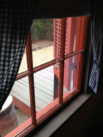 Surratt House window
