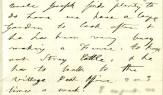 1875-10-9 MAB to Edwina re Joe at Long Branch