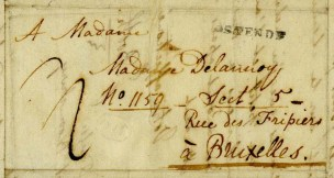 Junius' letter to Adelaide's mother May 1815
