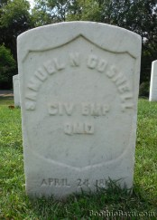 Samuel Gosnell Black Diamond grave