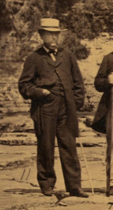 james-donaldson-at-trenton-falls-1863