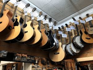 Guitars in Stock