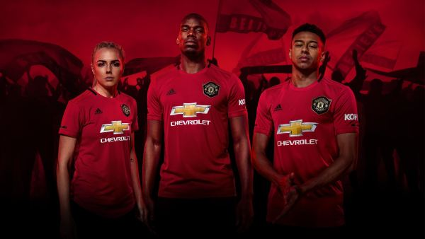 Manchester United Home Kit 2019/20