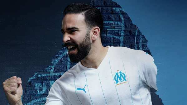 Olympique de Marseille home kit 2019/20, 120 year anniversary