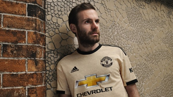 Manchester united away 2019/20 juan mata