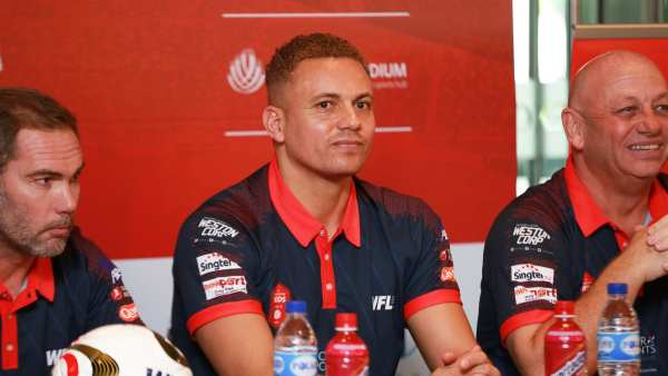 wes brown battle of the reds singapore
