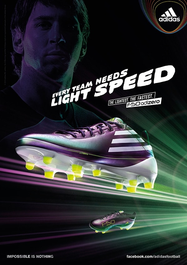 building the perfect speed boot - adidas f50 adizero