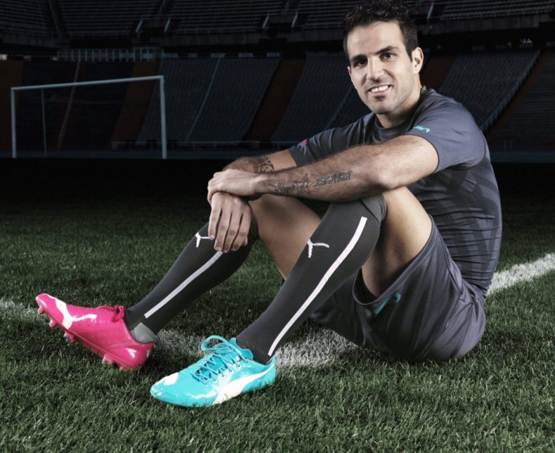 Cesc Fabregas in Puma evoPower