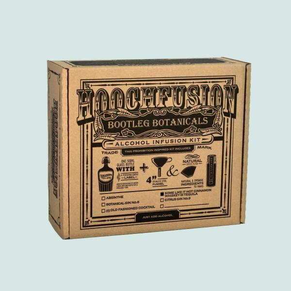Bootleg Botanicals Cinnamon Tequila & Whiskey Alcohol Infusion Kit