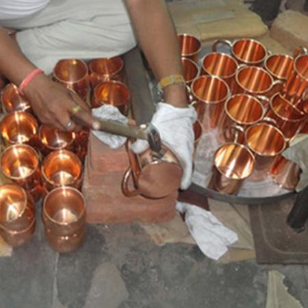 Handcrafted Mule Mugs