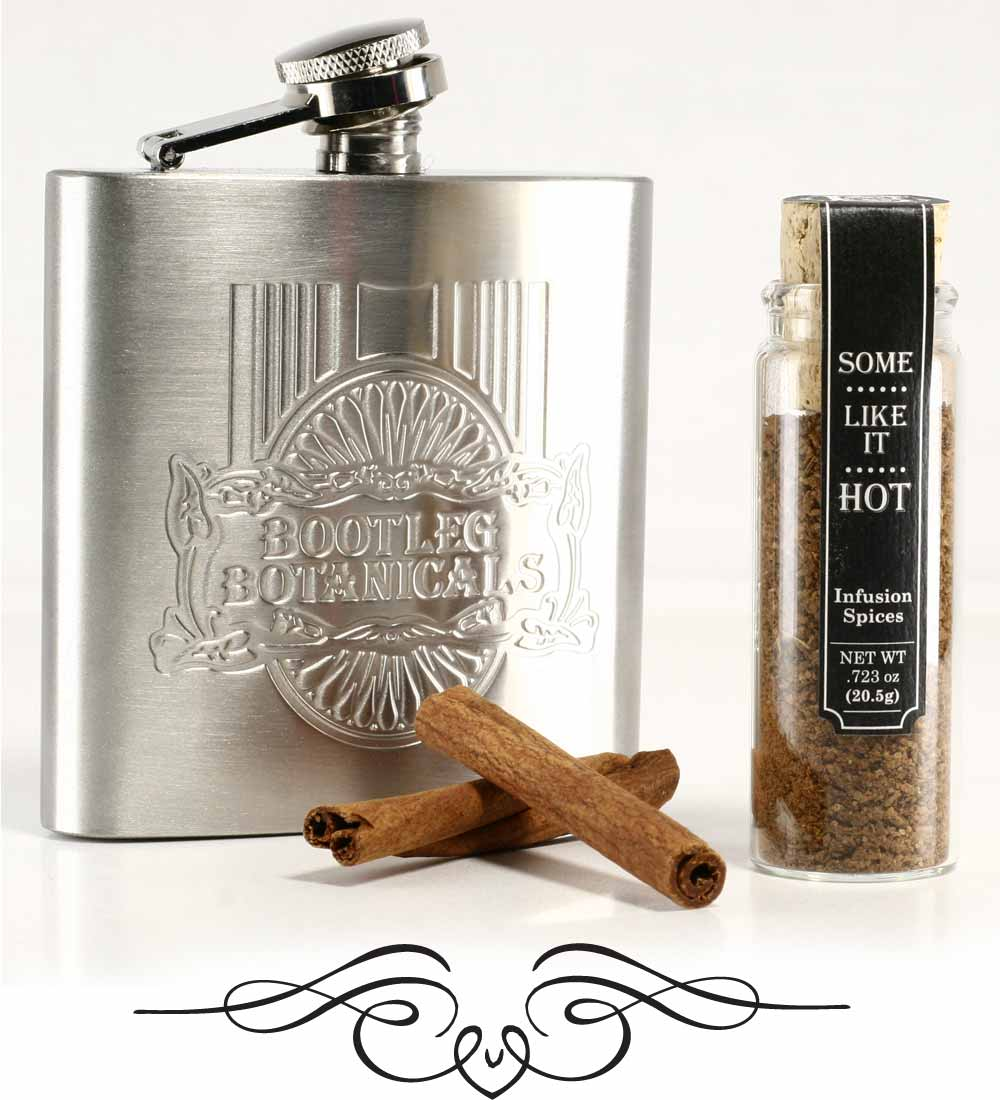 Bootleg Botanicals™ Cinnamon Whiskey or Tequila Infusion Spices