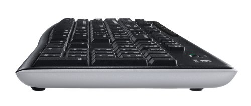 K270 Wireless Standard Keyboard side