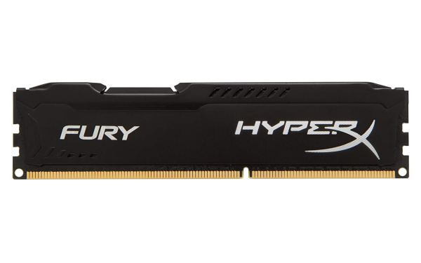 Kingston HyperX FURY 16GB Kit (2x8GB) 1600MHz DDR3 CL10 DIMM - Black HX316C10FBK2 single