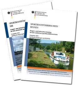 Fragenkatalogmappe für See und Binnen