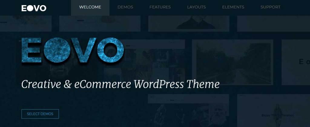eovo: meilleurs thèmes pour site d'ecommerce