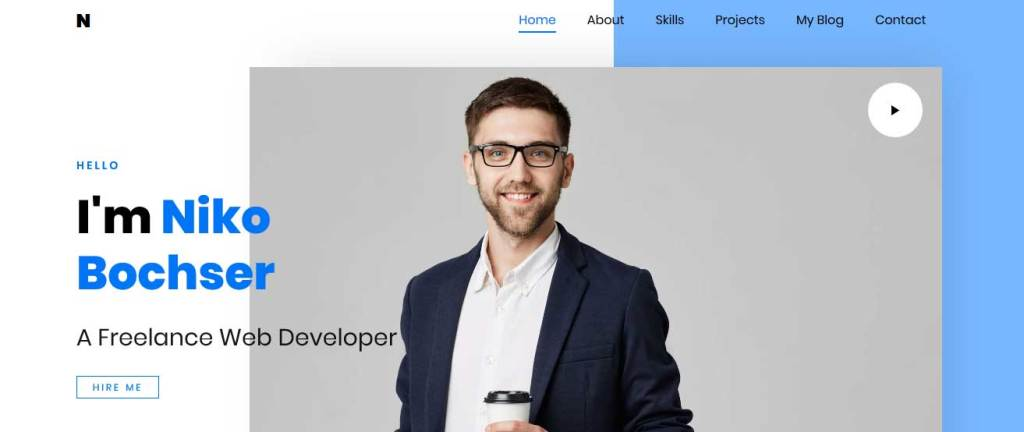 Niko : thèmes responsives gratuits pour freelance