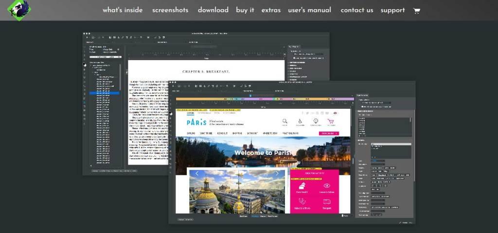 bluegriffon : éditeurs de code gratuits