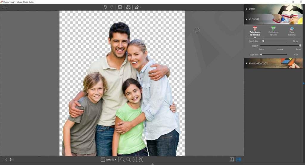 inpixio : logiciel de retouche photo
