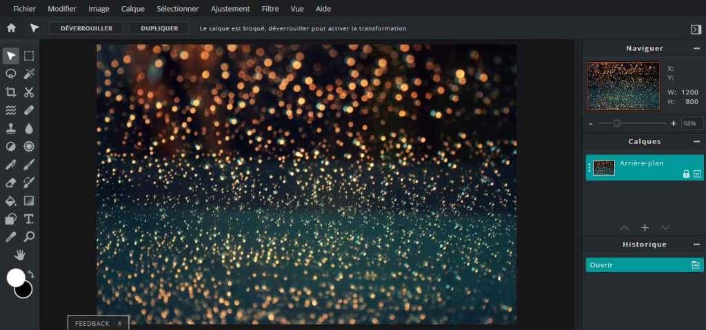 pixlr : logiciels de retouche photo