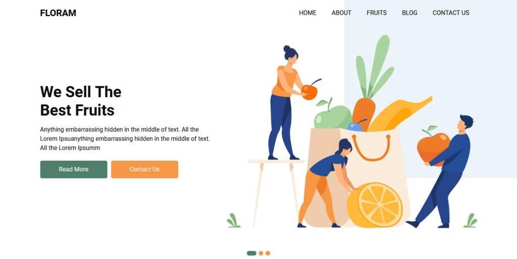 floram : thème ecommerce gratuit
