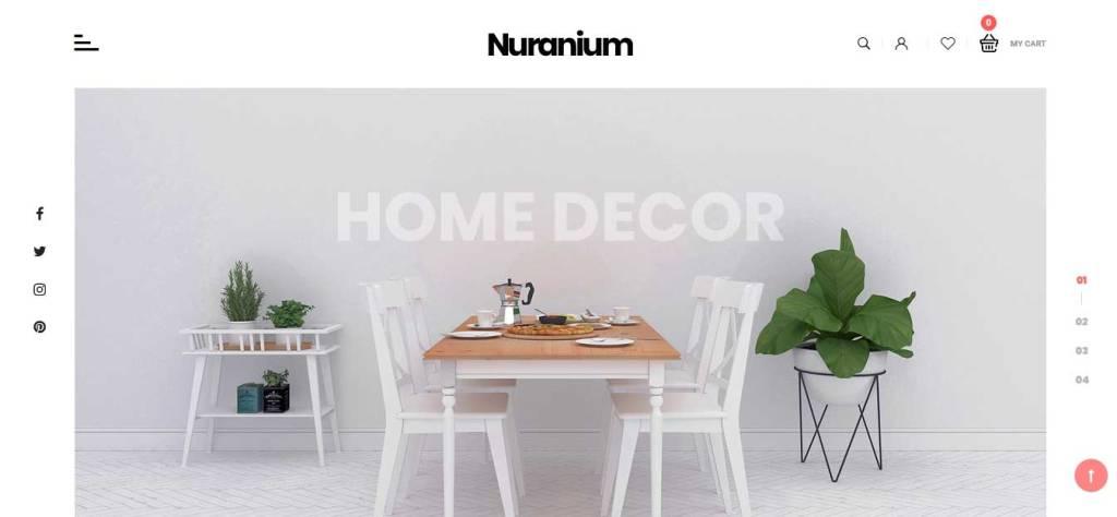 nuranium : thème premium prestashop